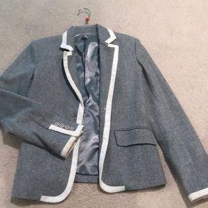 "Aqua ""school-boy"" blazer"